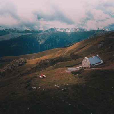 Une des plus belles cabanes des Pyrénées